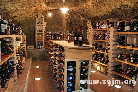 梦见葡萄酒地窖