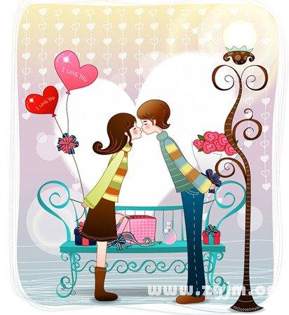 梦见情人争吵或亲密