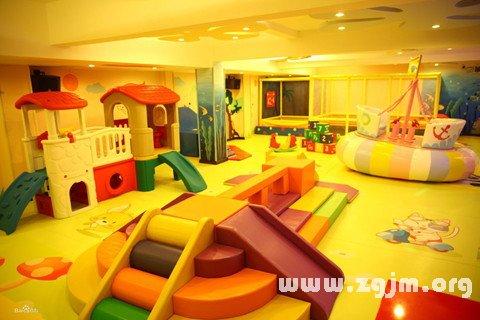梦见儿童乐园