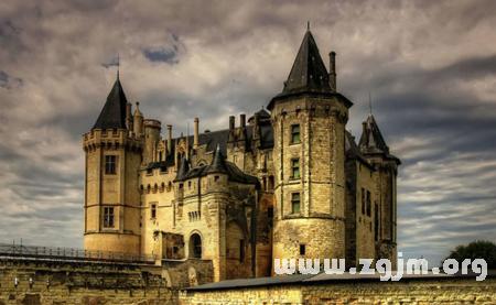 梦见一座城堡