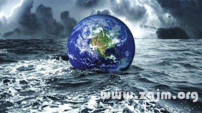 梦见地球大灾难