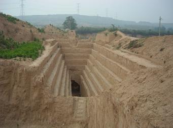 梦见坟墓塌陷填土