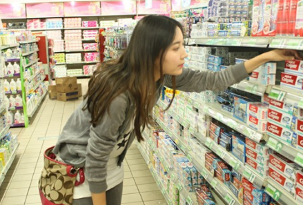 超市工作图片素材