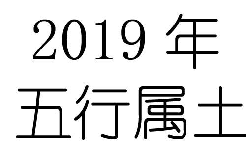 2019年五行属什么?2019年出生是什么命?
