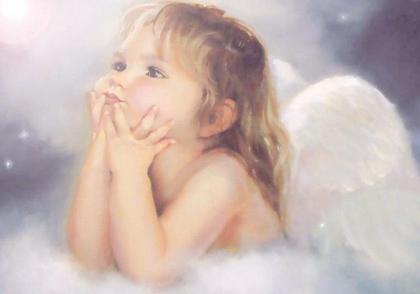 自己变成天使