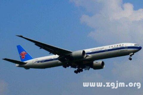 梦见坐飞机出国是什么意思