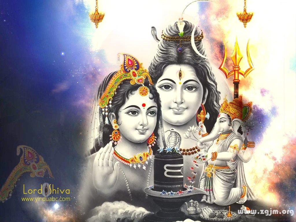 印度象神Ganesha的家庭