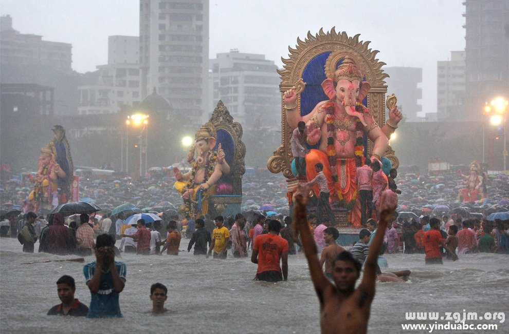 印度象神Ganesha节日
