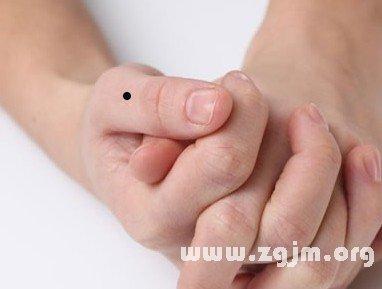 左手大拇指痣