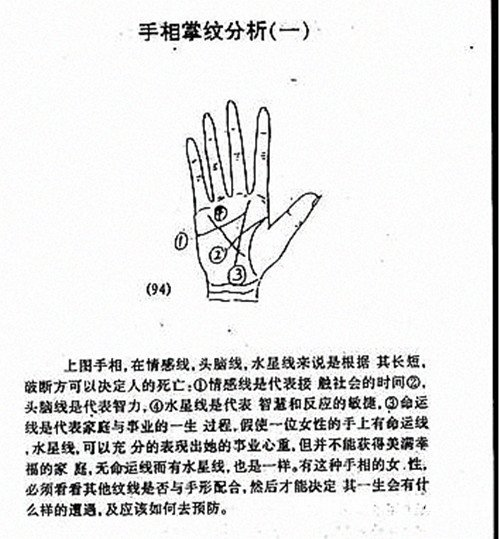 掌纹手相v掌纹粘贴教程沙画图解彩图片