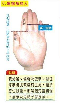 拇指短的人