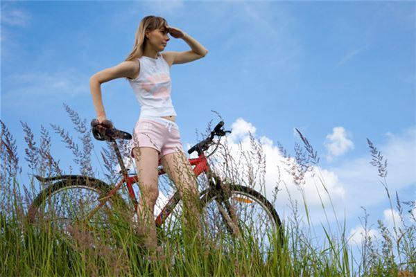 梦见自行车爆胎