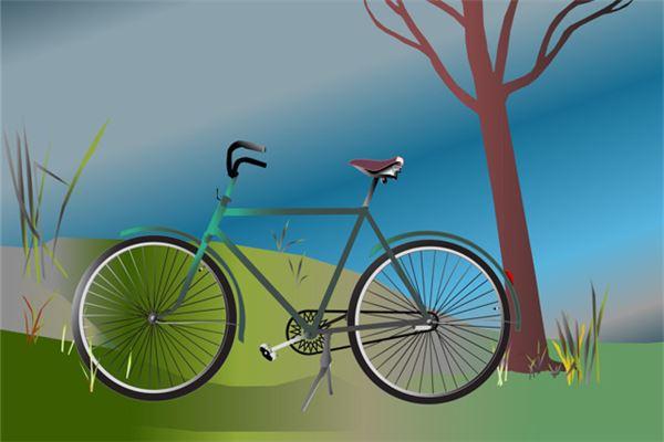 梦见给自行车打气