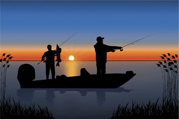梦见很多人钓鱼