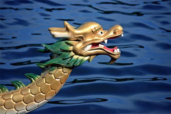 梦见龙在水中游
