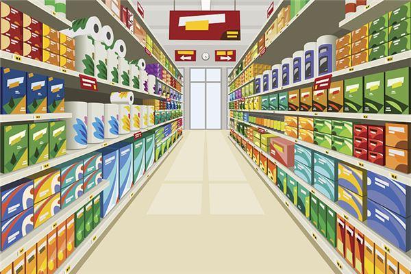 梦见自己开超市