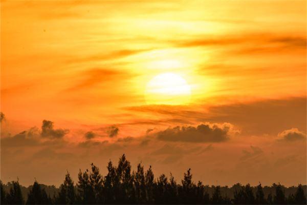 梦见初升的太阳