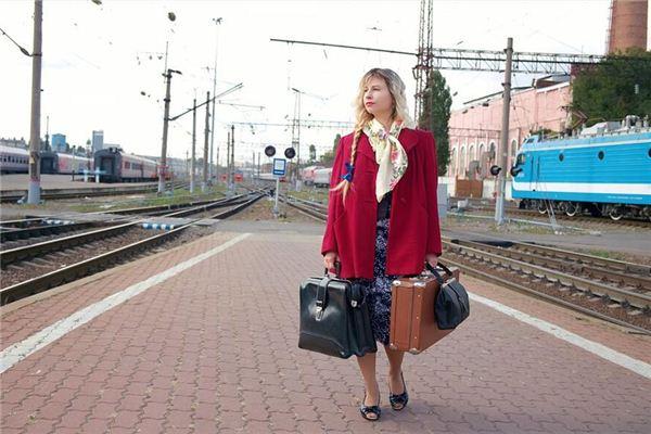 梦见车站 月台