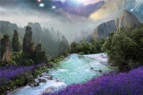 梦见河流 溪流