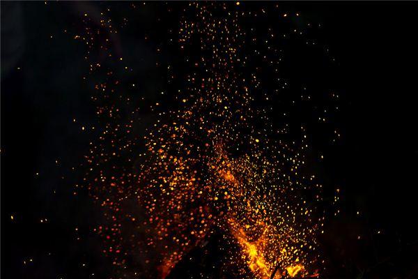 梦见鬼火 磷火