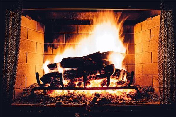 梦见生炉子的火