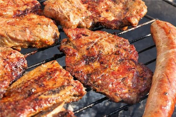 梦见牛排 烤肉