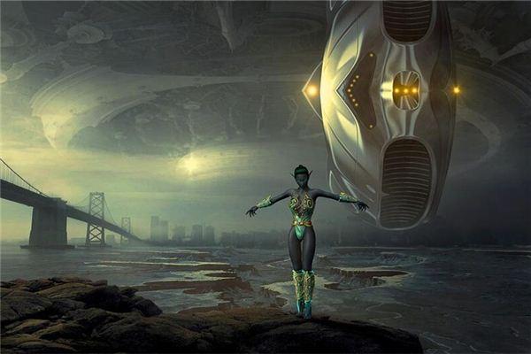 梦见跟外星人交往
