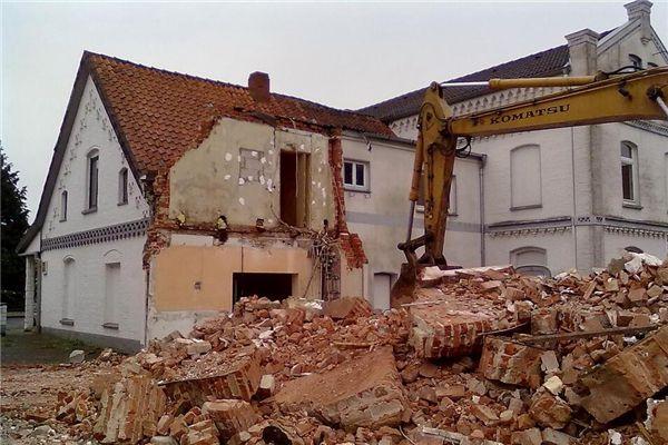 梦见要拆房子