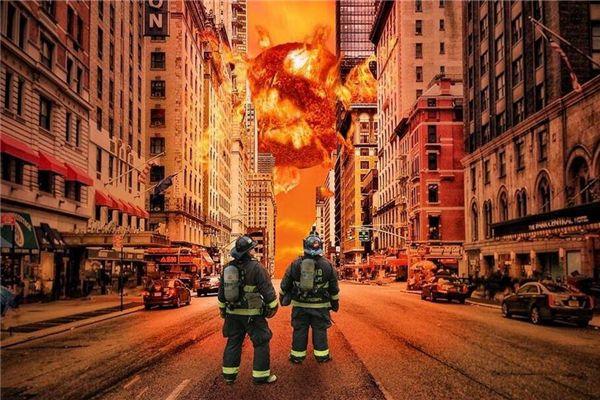 梦见着火爆炸