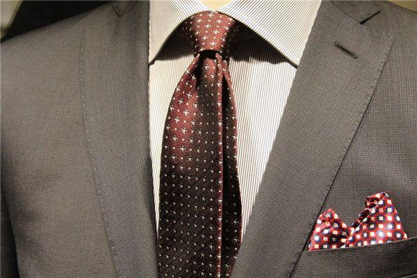 梦见打领带