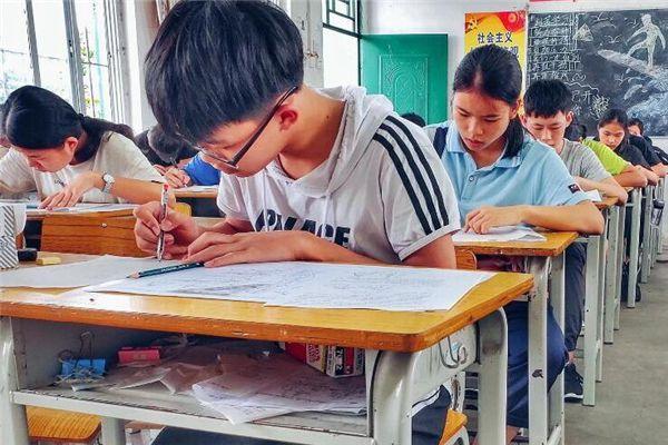 梦见上学考试