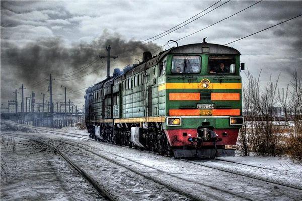 梦见火车着火