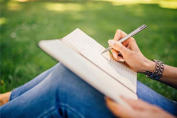 梦见自己写字