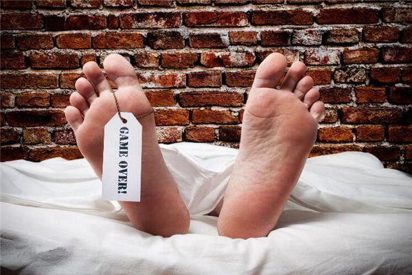 梦见生病的老公去世