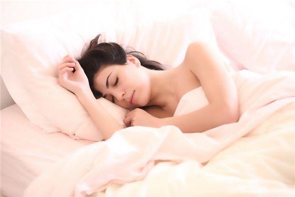 梦见独自上床睡觉