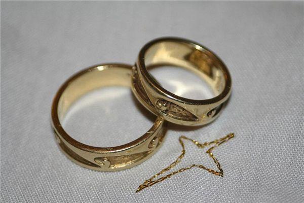 梦见捡金戒指