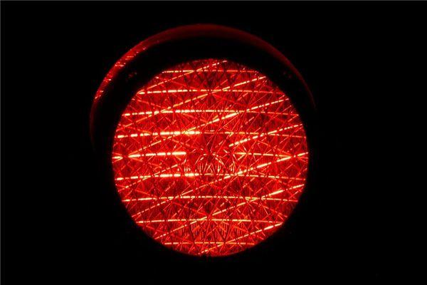 梦见出现红灯