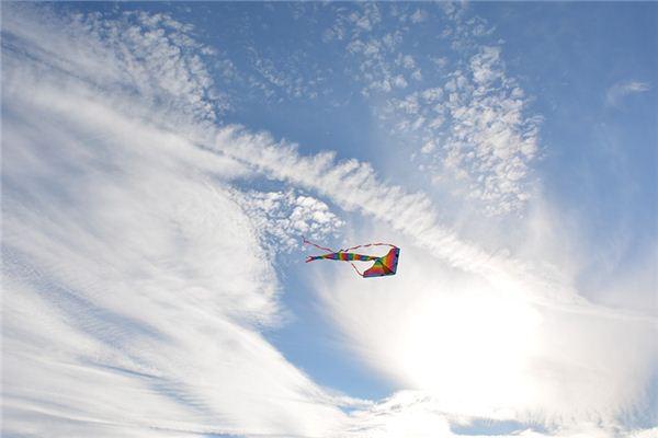 梦见放风筝是什么意思