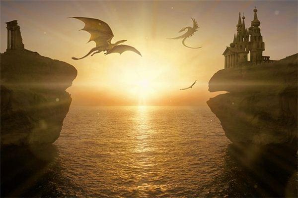 梦见龙在天上飞