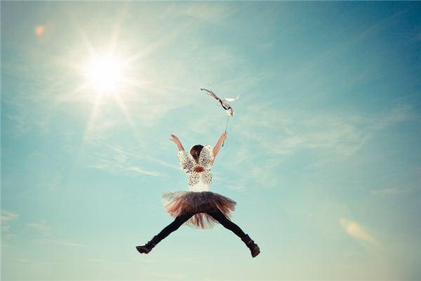 梦见飞上天是什么意思