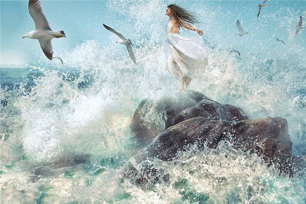 梦见巨浪是什么意思