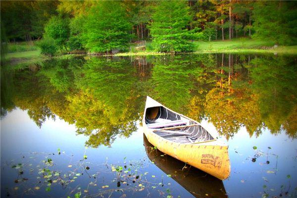 梦见划船是什么意思