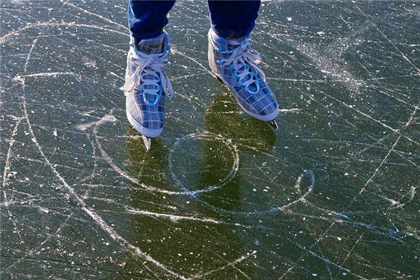 梦见滑冰是什么意思