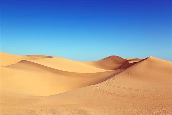 梦见沙漠是什么意思