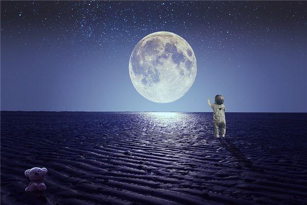 梦见月夜是什么意思