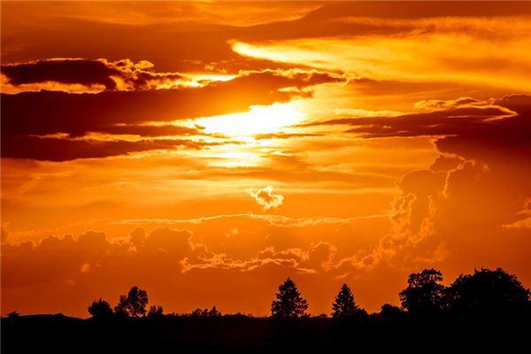 梦见夕阳是什么意思