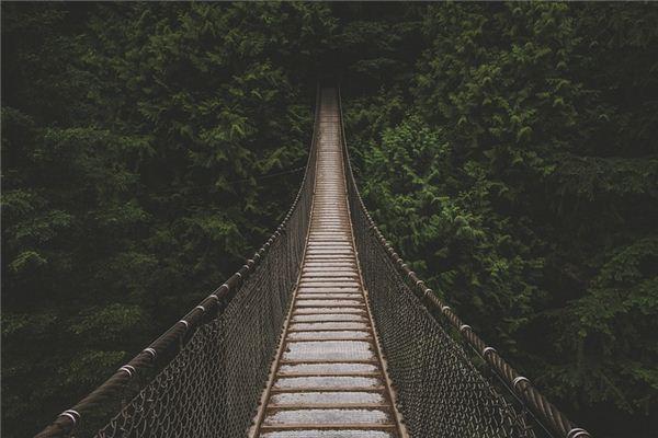 夢見吊橋是什么意思