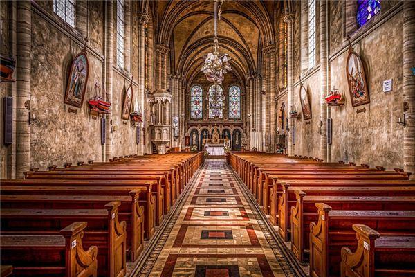 梦见教堂是什么意思
