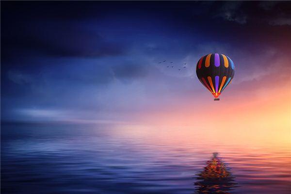 梦见热气球是什么意思