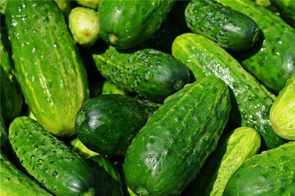 梦见吃黄瓜是什么意思